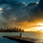 Time-lapse Photographer Sam Yeldham Captured An Epic Picture Of Newlywed Couple At Sydney Harbor
