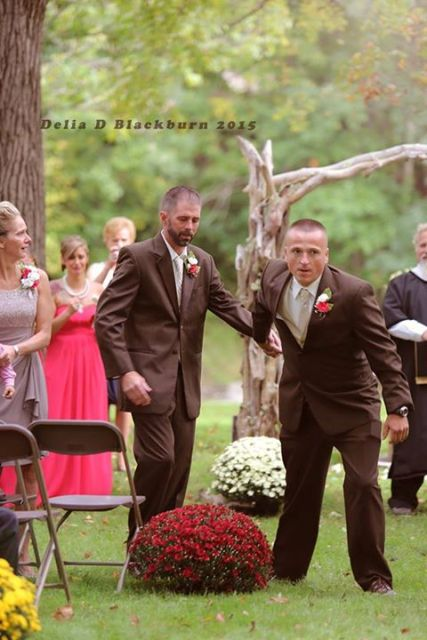 stepdad wedding