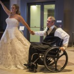 Love On Wheels: Bride And Groom (In A Wheelchair) Surprise Wedding Guests With Their First Dance