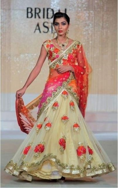 bridal lehengas a riot of colors_New_Love_Times