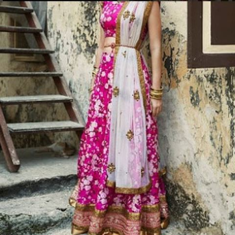 bridal lehengas chic pink_New_Love_Times