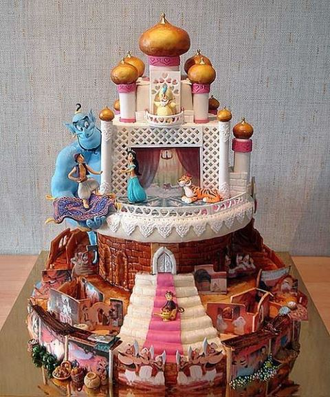 disney wedding cake aladdin_New_Love_Times