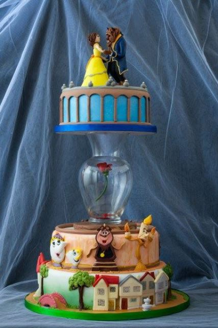 disney wedding cake beauty and the beast_New_Love_Times