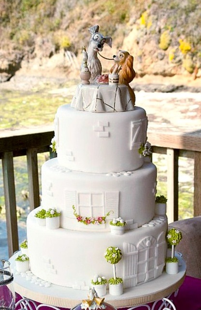 disney wedding cake lady and the tramp_New_Love_Times