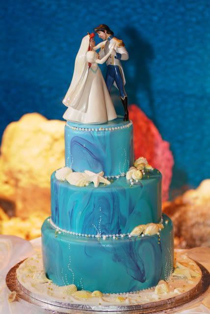 disney wedding cake little mermaid_New_Love_Times