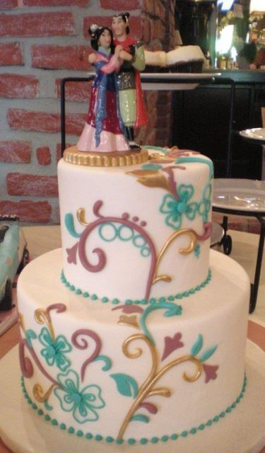 disney wedding cake mulan_New_Love_Times