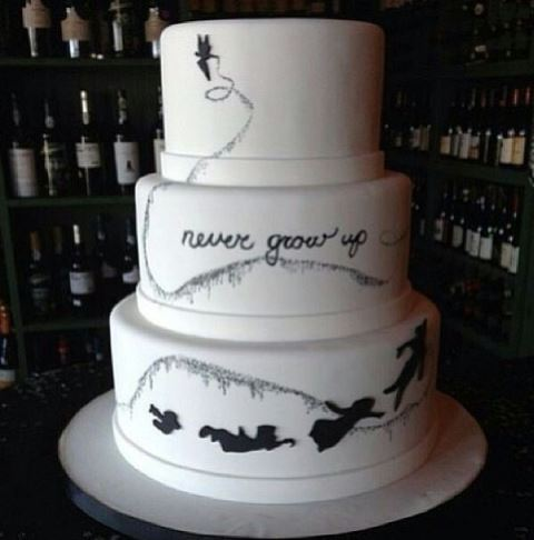 disney wedding cake peter pan_New_Love_Times