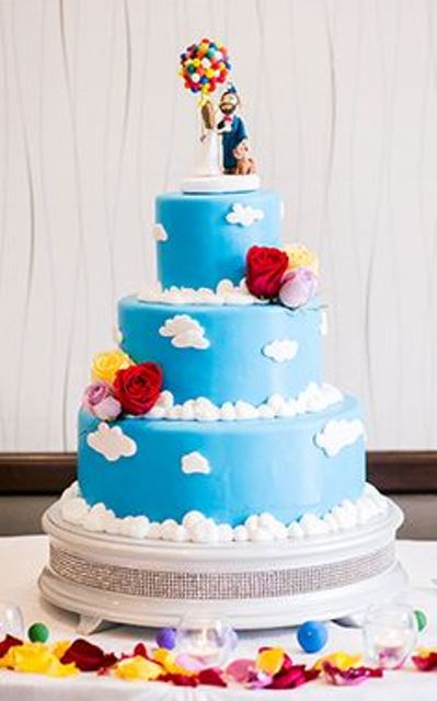 disney wedding cake up_New_Love_Times