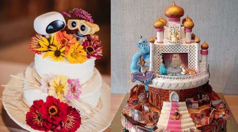 15 Disney Wedding Cakes To Make Your Big Day Special