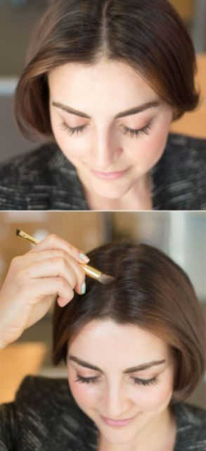 hair hacks eye shadow for illusion of more hair_New_Love_Times