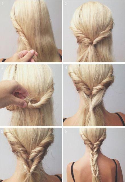 hair hacks fishtail braid_New_Love_Times