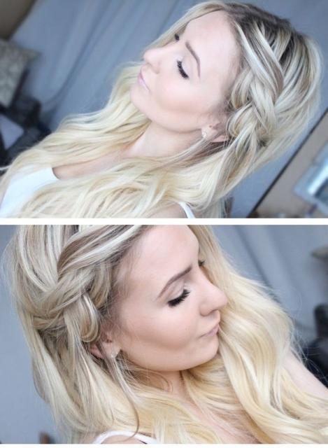 hair hacks semi-braid unwashed hair_New_Love_Times