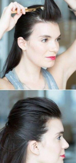 hair hacks toothbrush to tame flyaways_New_Love_Times