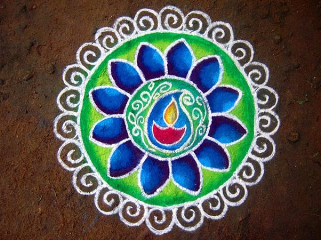 15 Easy Rangoli Designs For Diwali You NEED To Try This Festive Season Peacock Pattern Outline