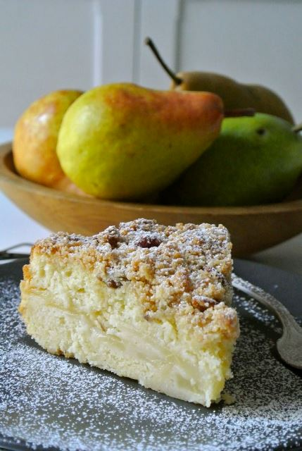 thanksgiving pear streusel_New_Love_Times