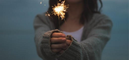 woman with a sparkler_New_Love_Times
