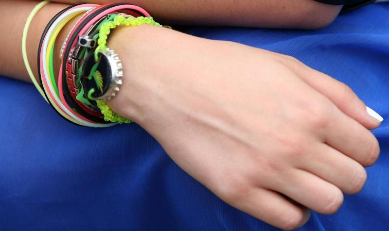 Hair ties on wrist_New_Love_Times
