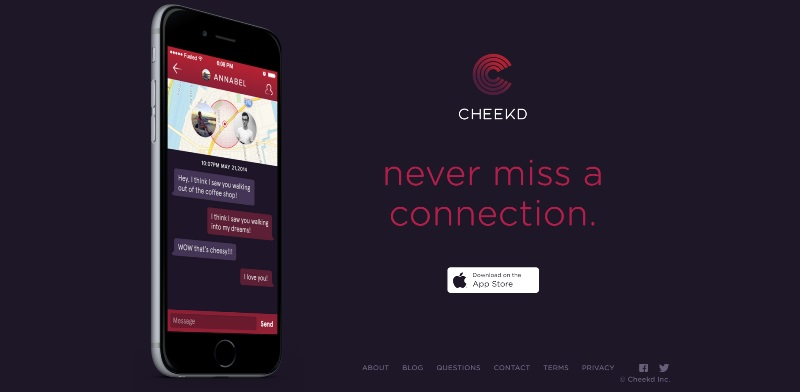 cheekd dating app home page_New_Love_Times