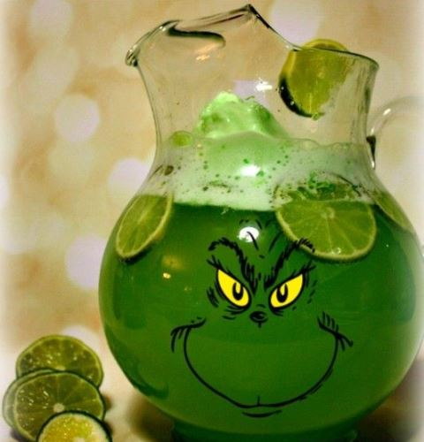 christmas drinks grinch punch_New_Love_Times