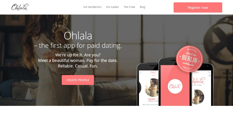 ohlala paid dating app home page_New_Love_Times