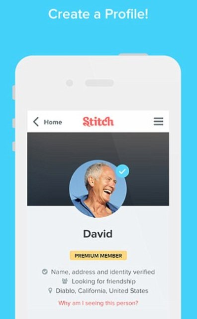 dubbed tinder for seniors stitch dating app caters to people over 50