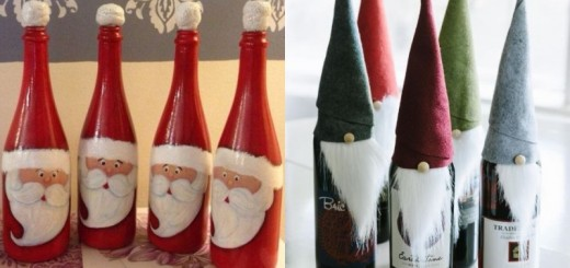 wine bottle decorations_New_Love_Times