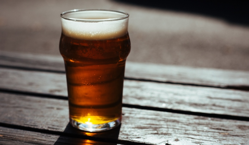 a glass of beer_New_Love_Times