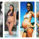 15 Celebrities Who Rocked Bikinis With Their Baby Bumps