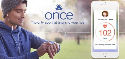 once dating app page showing the new heartbeat feature_New_Love_Times
