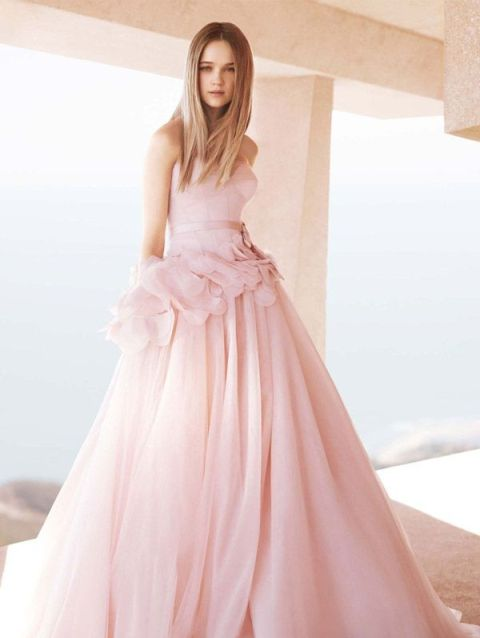 pink wedding dresses_New_Love_Times