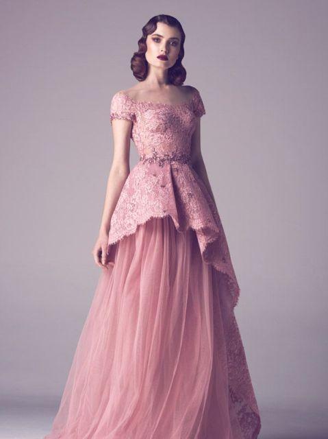 pink wedding dresses_New_Love_Times