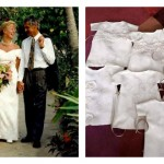 Woman's Wedding Dress Repurposed As Burial Gowns For Stillborn Babies