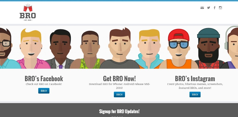 bro app home page_New_Love_Times