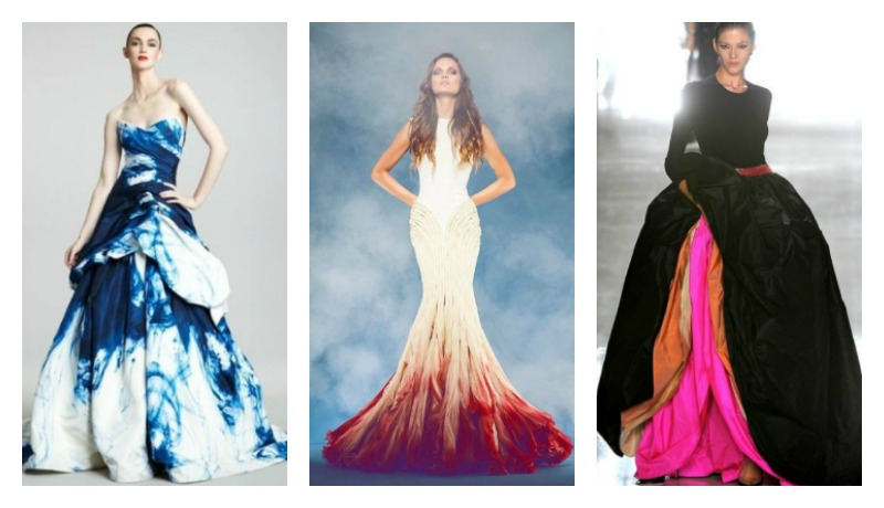 15 colored wedding dresses that will make you rethink a for Different colored wedding dresses
