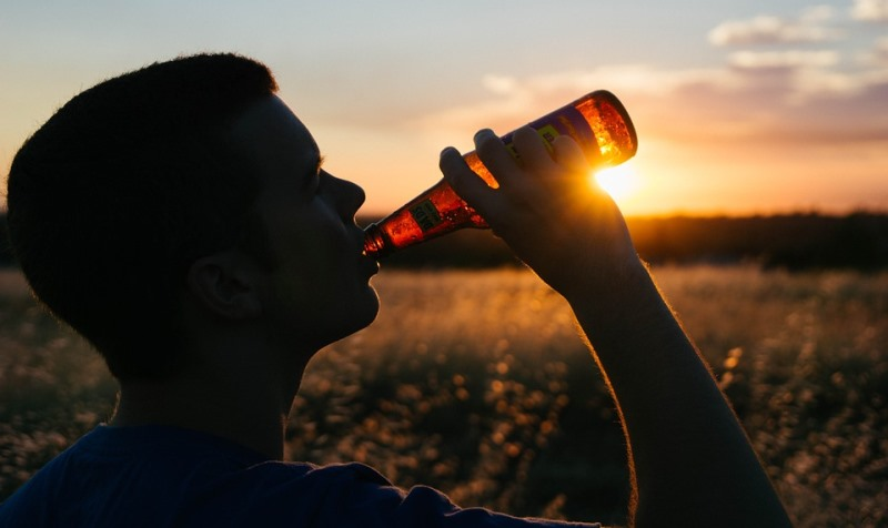 man drinking beer_New_Love_Times