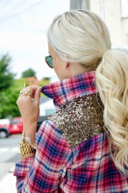 plaid flannel shirt_New_Love_times