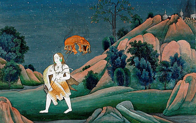Shiva carrying Sati's dead body_New_Love_Times
