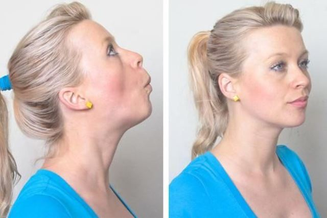 How To Get Rid Of A Double Chin: 10 Easy Exercises That ...