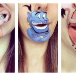 Makeup Artist Laura Jenkinson Creates Cartoon Characters On Her Lips, And It's Awesome!