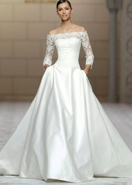 modest wedding dresses_New_Love_Times
