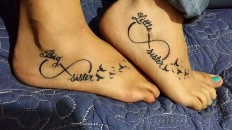 15 sister tattoos that prove that your sister is your best for Sister tattoos pinterest