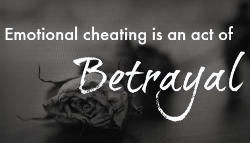 is emotional cheating as serious An emotional affair is essentially an affair of the heart, said sheri meyers, a  marriage therapist and the author of chatting or cheating: how to.