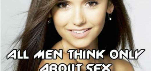 men think about sex