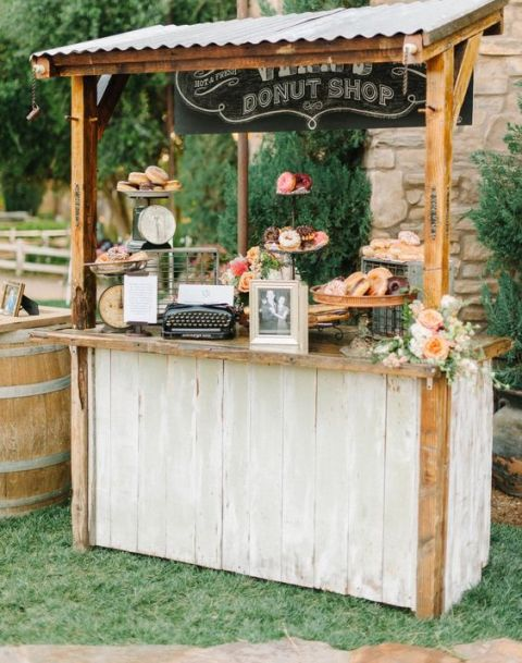 22 clever wedding bar ideas that don 39 t involve alcohol for New bar ideas
