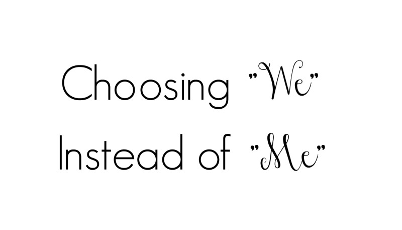 choosing we instead of me_New_Love_Times
