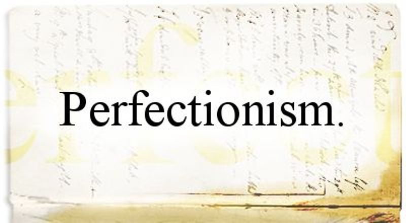 dating someone with perfectionism