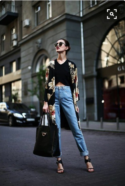 how to wear boyfriend jeans_New_Love_Times