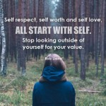 How To Learn To Love Yourself For Who And What You Are