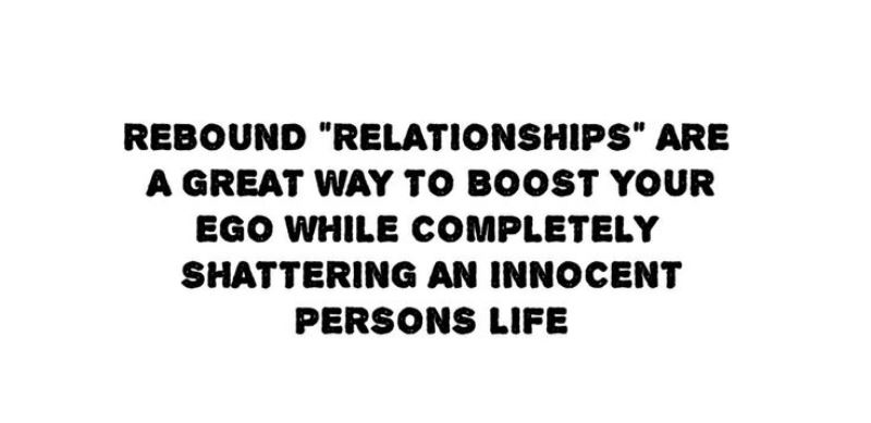How rebound relationships work