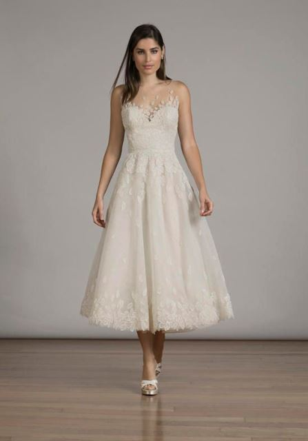 tea-length wedding dresses_New_Love_Times